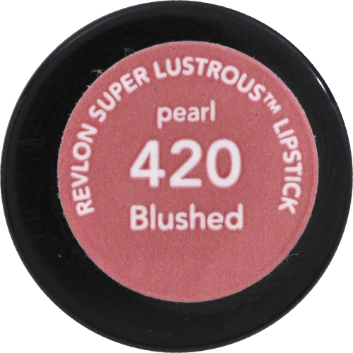 Revlon Super Lustrous 420 Blushed Pearl Lipstick Perspective: bottom