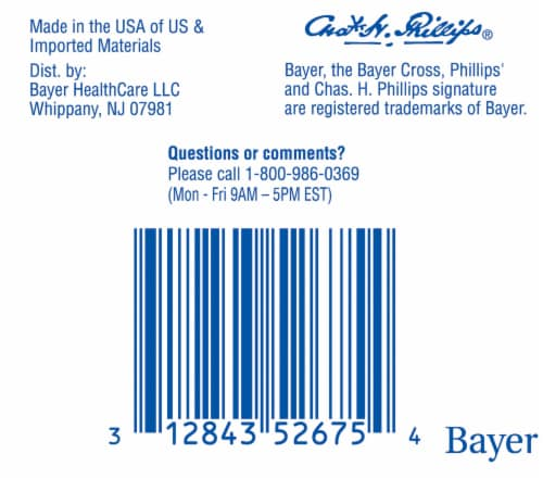 Phillips® Laxative Caplets Value Pack Perspective: bottom