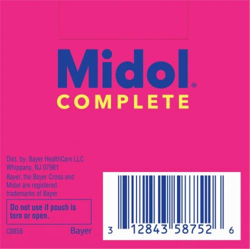 Midol® Complete Multi-Symptom Relief Caplets Perspective: bottom