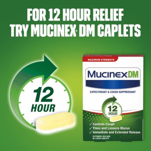 Mucinex Maximum Strength Fast-Max DM Cough & Chest Congestion Medicine Liquid Perspective: bottom