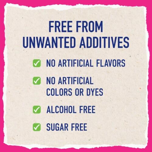 Mucinex Children's Free From Honey & Berry Flavor Daytime Cold & Stuffy Nose Medicine Perspective: bottom