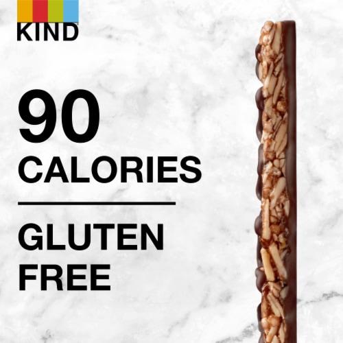 KIND Thins Dark Chocolate Nuts & Sea Salt Bars Perspective: bottom