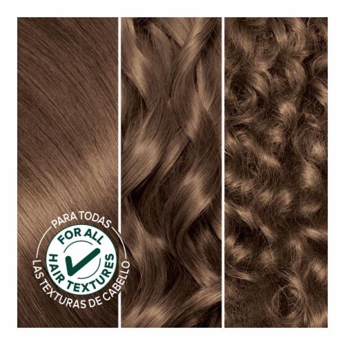 Garnier® Nutrisse® Nourishing Mochaccino 61 Light Ash Brown Hair Color Perspective: bottom