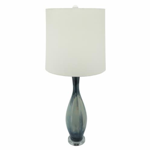 Ceramic 38  Bottle Table Lamp, Multi Perspective: bottom