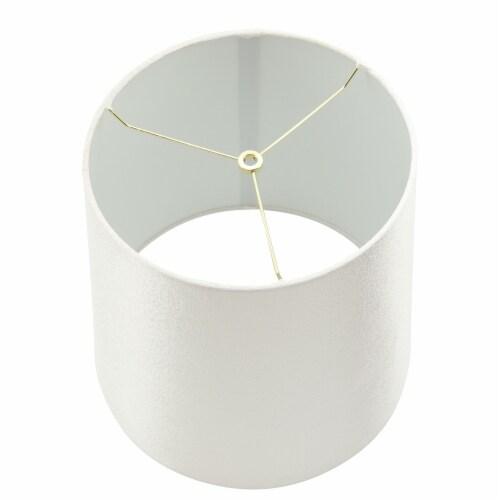 Ceramic 37  Braid Table Lamp, Black Perspective: bottom