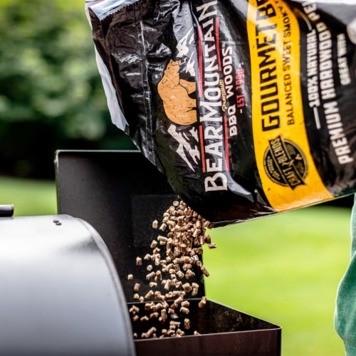 Bear Mountain BBQ Premium All Natural Wood Mesquite Smoker Pellets, 40 Pounds Perspective: bottom