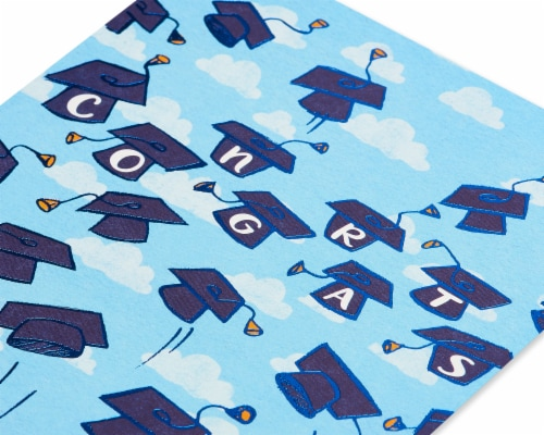American Greetings #61 Graduation Cards (Grad Caps) Perspective: bottom