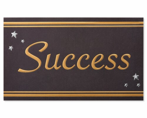 American Greetings #63 Graduation Gift Card Holder (Success) Perspective: bottom