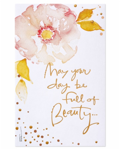 American Greetings #65 Mother's Day Card (Beauty) Perspective: bottom