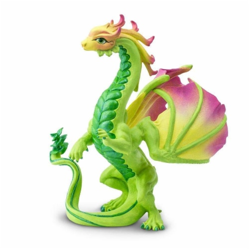 Flower Dragon Toy Perspective: bottom