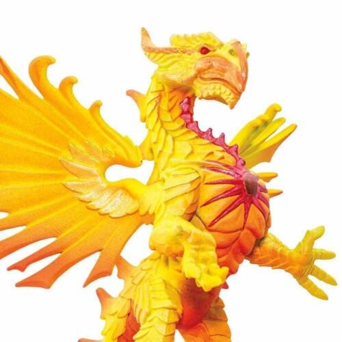 Safari 10134 Sun Dragon Figurine, Multi Color Perspective: bottom