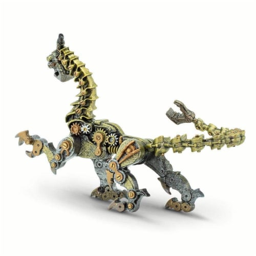 Steampunk Dragon Toy Perspective: bottom