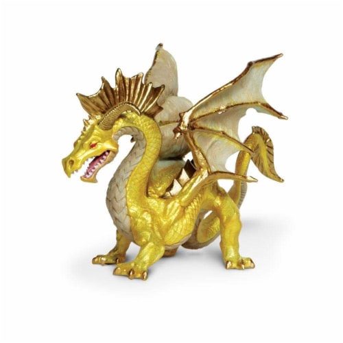 Golden Dragon Toy Perspective: bottom