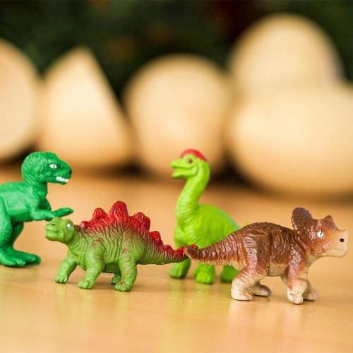 Dino Baby Eggs Set Toy Perspective: bottom