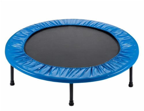 """40"""" Mini Round Trampoline Replacement Safety Pad (Spring Cover) for 6 Legs - Blue Perspective: bottom"""