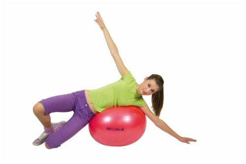Gymnic Body Exercise Ball - Red Perspective: bottom