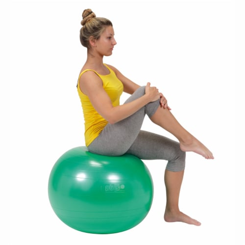 Gymnic Plus Fitness Ball - Green Perspective: bottom