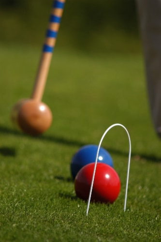 Londero Croquet with Trolley Perspective: bottom