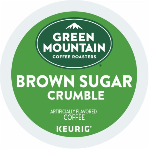 Green Mountain Coffee Brown Sugar Crumble Donut Flavored Coffee K-Cup Pods Perspective: bottom