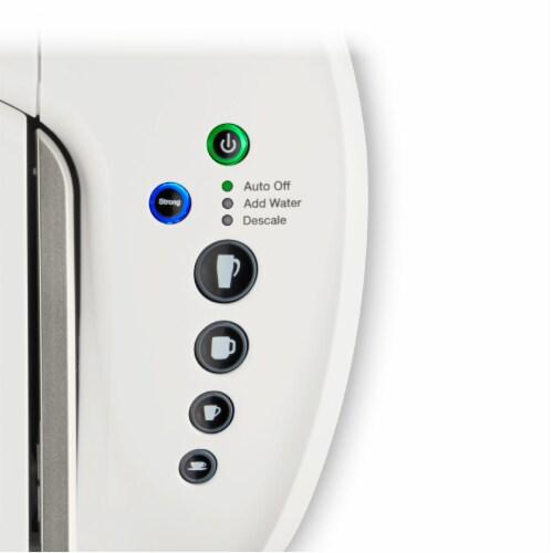 Keurig® K-Select Single-Serve K-Cup® Pod Coffee Maker - Matte White Perspective: bottom