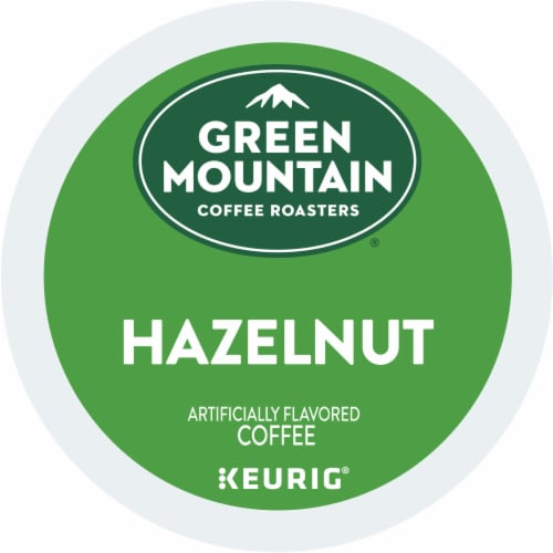 Green Mountain Coffee Roasters Hazelnut Coffee K-Cup Pods Perspective: bottom