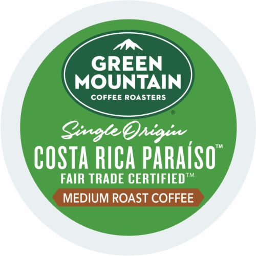 Green Mountain Costa Rica Coffee K-Cup Pods Perspective: bottom