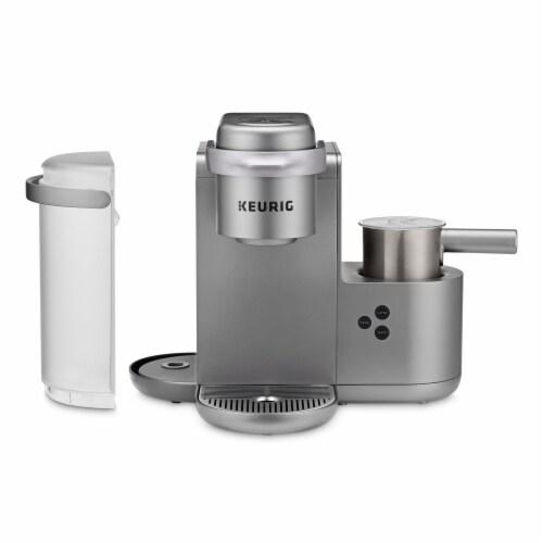 Keurig® K-Café Single Serve Coffee Latte and Cappuccino Maker - Nickel Perspective: bottom