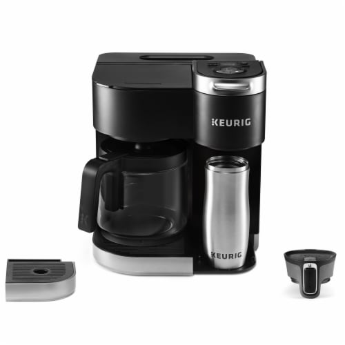 Keurig® K-Duo Single Serve & Carafe Coffee Maker - Black Perspective: bottom