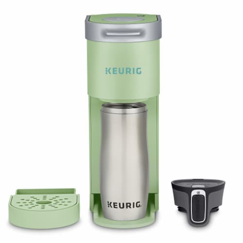 Keurig® K-Mini Single Serve Coffee Maker - Chill Green Perspective: bottom