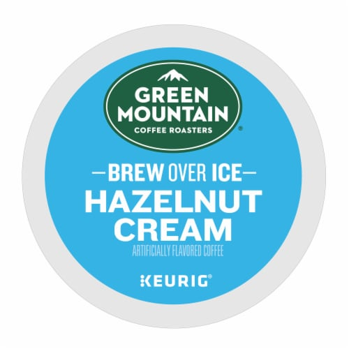 Green Mountain Coffee Roasters Brew Over Ice Hazelnut Creme K-Cup Pods Perspective: bottom
