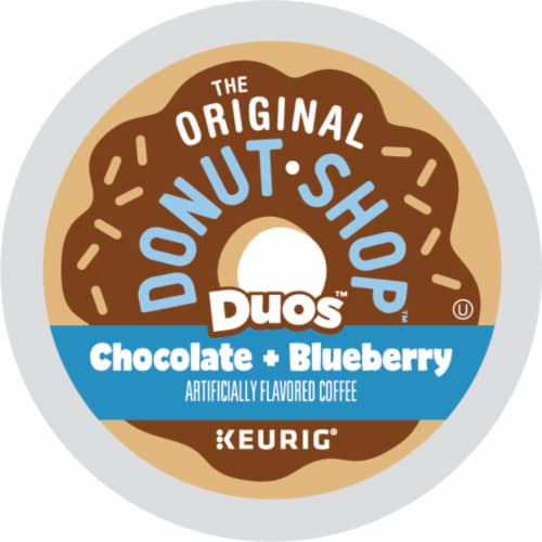 The Original Donut Shop® Duos™ Chocolate + Blueberry Coffee K-Cup Pods Perspective: bottom