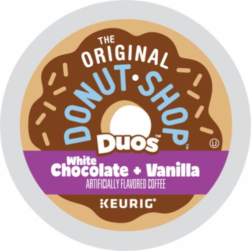 The Original Donut Shop Dous White Chocolate Vanilla K-Cup Pods Perspective: bottom