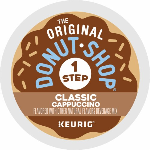 The Original Donut Shop One Step Classic Cappucino K-Cup Pods Perspective: bottom