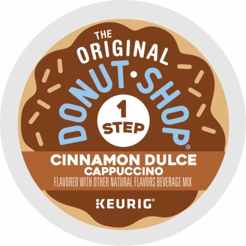 The Original Donut Shop Cinnamon Dulce Cappucino K-Cup Pods Perspective: bottom