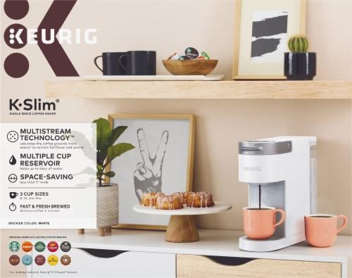 Keurig® K-Slim® Single Serve Coffee Maker - White Perspective: bottom