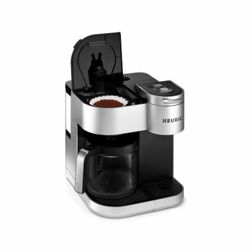 Keurig® K-Duo Special Edition Single Serve K-Cup Pod & Carafe Coffee Maker - Silver Perspective: bottom