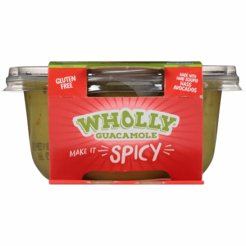 Wholly Guacamole® Spicy Hot Guacamole Family Size Perspective: bottom