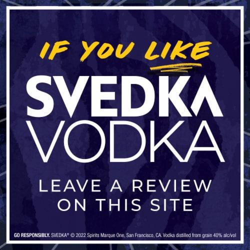 Svedka Vodka Perspective: bottom
