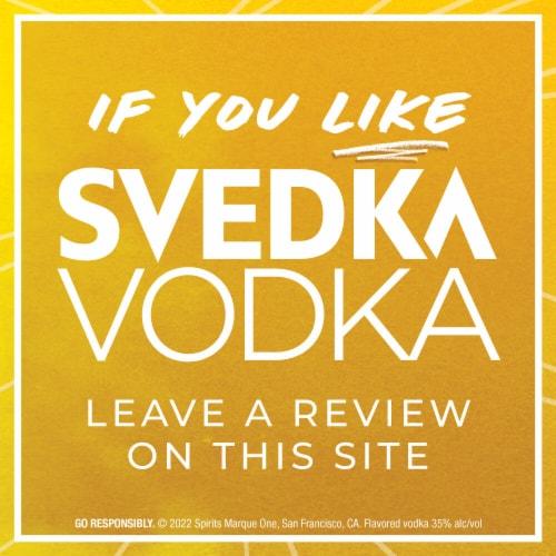 Svedka Citron Vodka Perspective: bottom