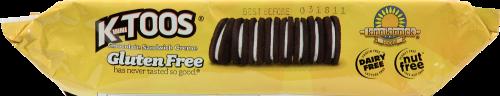 Kinnikinnick KinniToos Cookies Chocolate Sandwich Creme Perspective: bottom