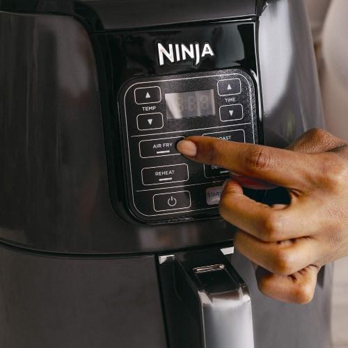 Ninja® Air Fryer - Black Perspective: bottom