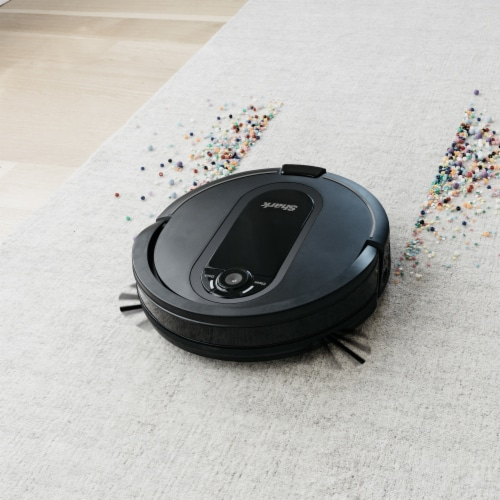 Shark® RV1001AE IQ Robot Vacuum with Self-Empty Base Perspective: bottom