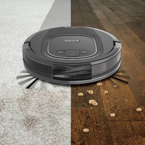 Shark® ION Robot Vacuum with Wi-Fi Perspective: bottom