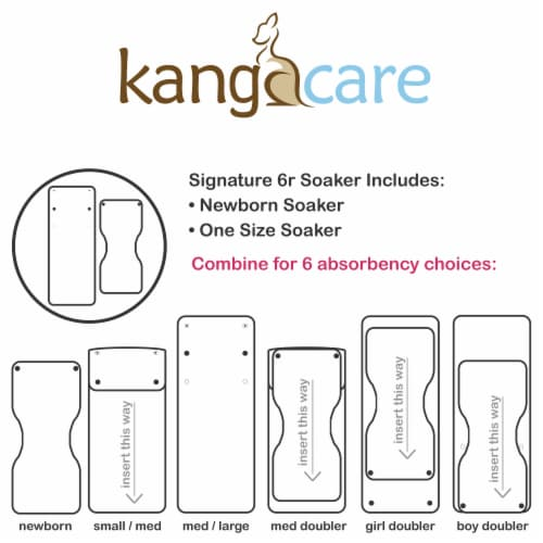 Kanga Care Rumparooz Rayon from Bamboo 6R Soaker, 10 Count Perspective: bottom