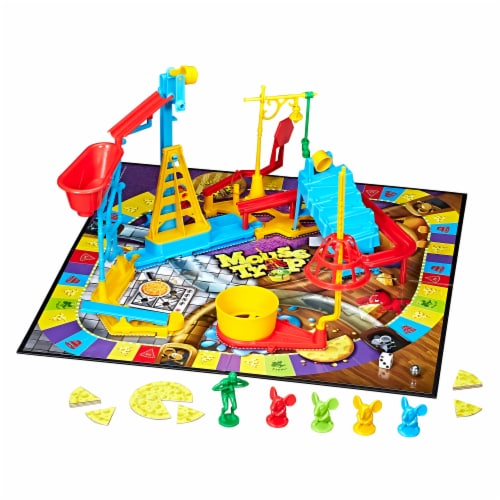 Hasbro Mouse Trap Board Game Perspective: bottom