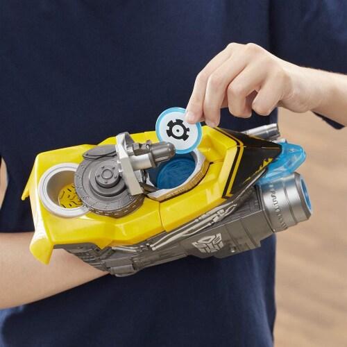 Transformers: Bumblebee - Bumblebee Stinger Blaster Perspective: bottom
