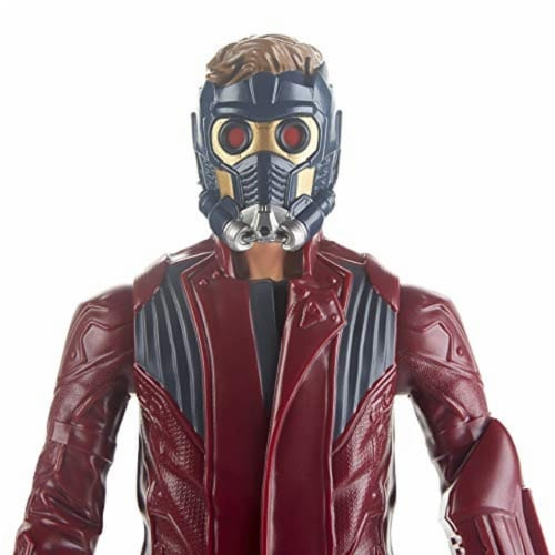 Marvel Avengers Titan Hero Series Star-Lord Figure Perspective: bottom