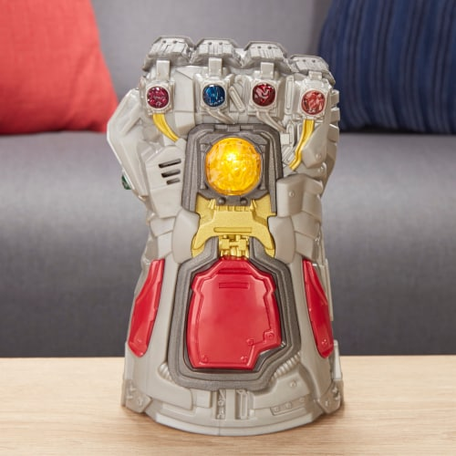 Avengers Marvel Endgame Electronic Fist Roleplay Toy with Lights & Sounds Perspective: bottom