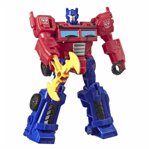 Transformers Cyberverse Scout Class Optimus Prime Action Figure Perspective: bottom