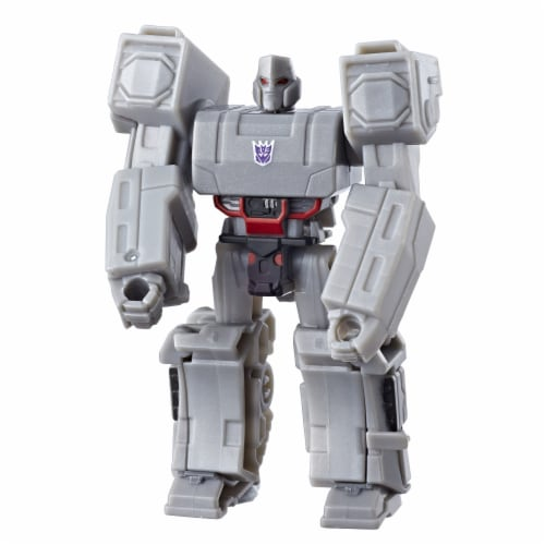 Transformers Cyberverse Scout Class Megatron Action Figure Perspective: bottom